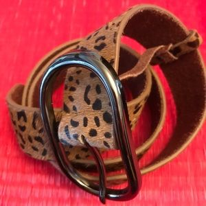 Accessories - Faux leather belt